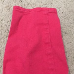 GAP Bottoms - Hot Pink Gap Jeans, size 8